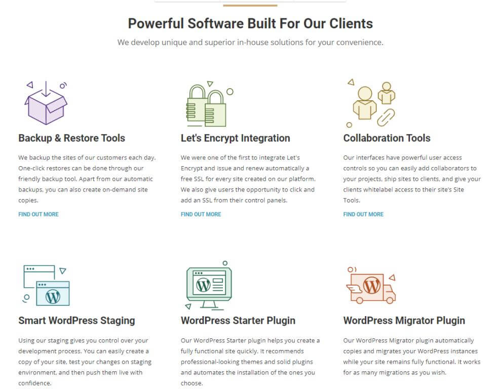 Siteground Powerful software build
